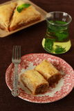 Baklava- turkish dessert Royalty Free Stock Images