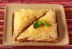 Baklava- turkish dessert Stock Photo