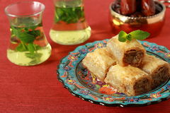 Baklava- turkish dessert Stock Photography