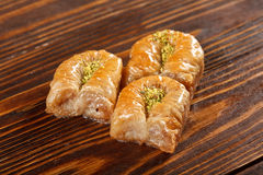 Baklava turkish and iran sweets Royalty Free Stock Images