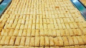 Baklava typowy Libański cukierki Sidon, Liban fotografia royalty free