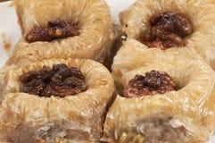 Baklava z orzechem włoskim 'sułtan' Zdjęcie Stock