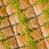 Baklave turche Fotografie Stock