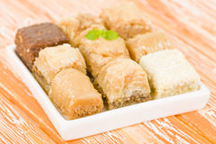 Baklawa Royalty Free Stock Photo