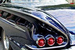 Baklykta för 58 Chevrolet royaltyfria foton
