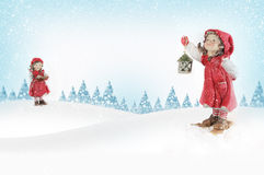 Baknground da canção de natal do Natal Fotos de Stock