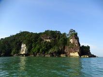 Bako国家公园岩石  沙捞越 自治市镇 马来西亚 免版税库存照片