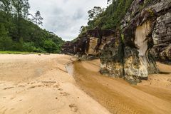 Bako National Park landscape Stock Photography