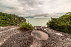 Bako National Park landscape Stock Images