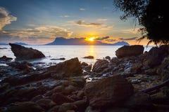 Bako Nationalpark stockbild