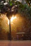 Bakong寺庙,柬埔寨 库存照片