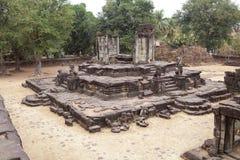 Bakong świątyni ruiny Fotografia Stock