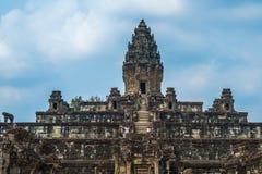 Bakong Ο ναός σύνθετος Angkor Καμπότζη Στοκ εικόνες με δικαίωμα ελεύθερης χρήσης
