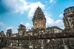 Bakong Ο ναός σύνθετος Angkor Καμπότζη Στοκ εικόνα με δικαίωμα ελεύθερης χρήσης