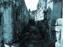 Bakong - πέτρινα κτήρια, Καμπότζη Στοκ εικόνα με δικαίωμα ελεύθερης χρήσης
