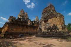Bakong tempel Arkivbilder