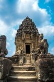 Bakong.The temple complex of Angkor.Cambodia. Royalty Free Stock Images