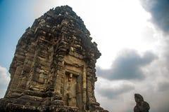 Bakong.The temple complex of Angkor.Cambodia. Stock Photos