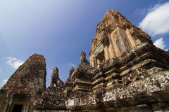 Bakong temple Royalty Free Stock Images
