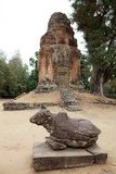 Bakong temple ruins Stock Photo