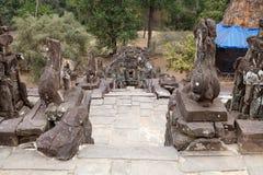 Bakong temple ruins Stock Image