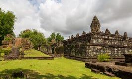 Bakong wat walls Stock Image