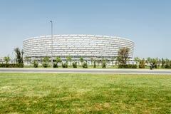 BAKOU - 10 MAI 2015 : Baku Olympic Stadium en mai Photographie stock
