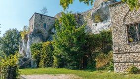 Bakowiec kasztelu ruiny Zdjęcie Royalty Free