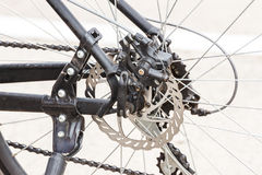 Bakre cykelhjul för tandhjul Royaltyfri Fotografi