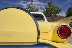 Bakre detalj av USA-tappningbilen royaltyfria bilder