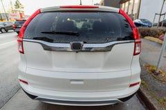 Bakre fönster för bil royaltyfria foton