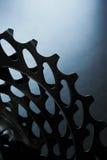 Bakre kassettcloseup för cykel Arkivbilder
