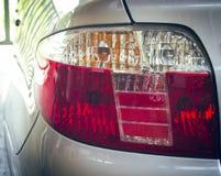 Bakre lampa för bil Arkivbilder