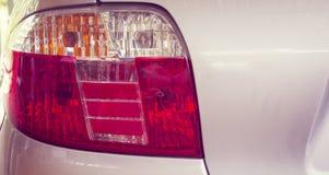 Bakre lampa för bil Arkivbild