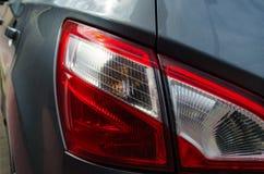 Bakre ljus för bil arkivbilder