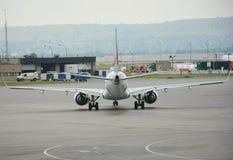 Bakre sikt för flygplan Royaltyfria Foton