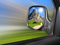 bakre sikt för spegel Arkivfoto