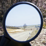 Bakre spegel Fotografering för Bildbyråer