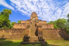 Baksei Chamkrong, de 10de eeuw Hindoese tempel, een deel van Angkor Wat Royalty-vrije Stock Foto