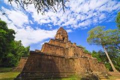 Baksei Chamkrong, de 10de eeuw Hindoese tempel, een deel van Angkor Wat Stock Foto