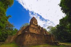 Baksei Chamkrong, de 10de eeuw Hindoese tempel, een deel van Angkor Wat Stock Afbeelding