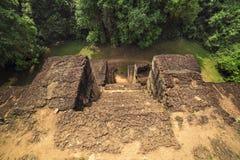 Baksei Chamkrong, de 10de eeuw Hindoese tempel, een deel van Angkor Wat Royalty-vrije Stock Afbeelding