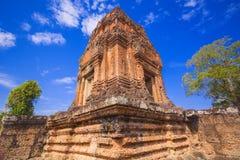 Baksei Chamkrong, de 10de eeuw Hindoese tempel, een deel van Angkor Wat Stock Afbeeldingen