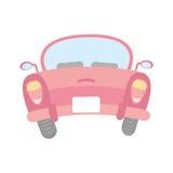 Baksida av bilsymbolen royaltyfri illustrationer