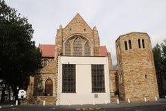 Baksida av domkyrkan Cape Town för St George ` s royaltyfri foto
