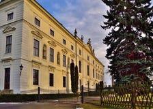 Chateau Zidlochovice Arkivbild