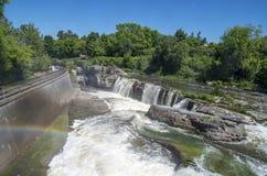 Baksida för gödsvin` s parkerar och vattenfall 22 Royaltyfri Bild