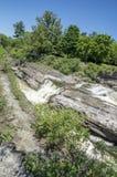 Baksida för gödsvin` s parkerar och vattenfall 35 Royaltyfri Fotografi