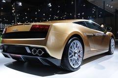 Baksida för Lamborghini gallardolp 560-4 Fotografering för Bildbyråer