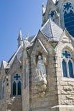 Baksidt av kyrkan i Guelph Ontario Arkivfoton